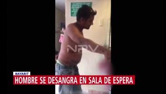 Denuncian que IMSS negó atención a hombre que se desangraba