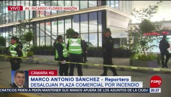 Foto: Desalojan Plaza Comercial Incendio Cdmx Hoy 26 Agosto 2019