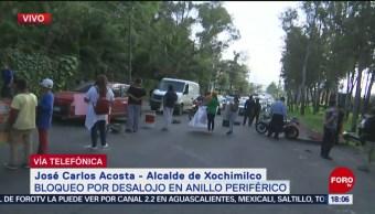 FOTO: Desalojo Xochimilco se debe irregularidades campo futbol americano
