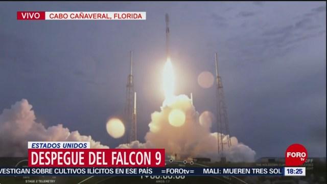 Foto: Despega Falcon 9 Cabo Cañaveral Florida