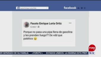 Foto: Despiden Funcionario Mujeres Yucatán Pipa Gasolina 19 Agosto 2019