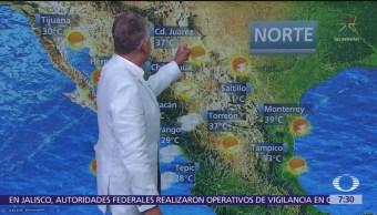 Despierta con Tiempo: Prevén ambiente muy caluroso en gran parte del país