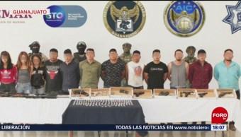 FOTO: Detienen a 16 presuntos criminales en Guanajuato, 10 Agosto 2019