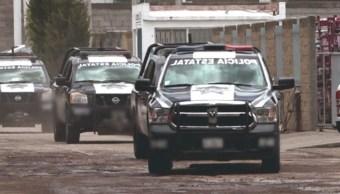 Foto: Según las autoridades de Aguascalientes, 2 de los detenidos cuentan con antecedentes penales en Jalisco, 28 de agosto de 2019 (Twitter @SSPEags)