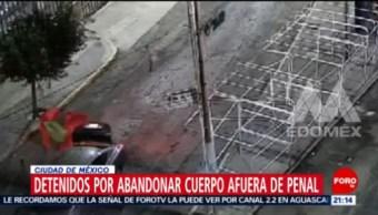 Foto: Detienen Personas Abandonar Cuerpo Penal Barrientos 27 Agosto 2019