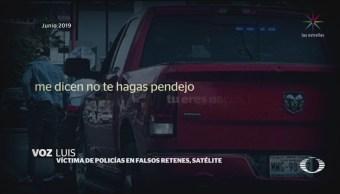 Foto: Detienen Tres Policías Falsos Retenes Edomex 16 Agosto 2019