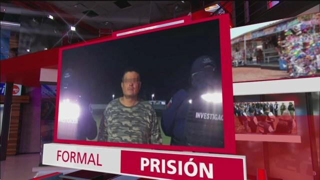 Foto: Dictan Formal Prisión El Carrete,