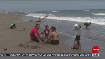 FOTO: Disminuyen incidentes en playas de Veracruz