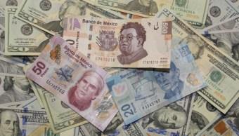 Foto: Dólares y pesos, 14 de agosto de 2019, México
