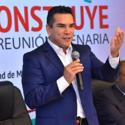 PRI será contrapeso para evitar abuso de poder: Alejandro Moreno