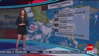 FOTO: Clima Mayte Carranco 21 Agosto 2019,