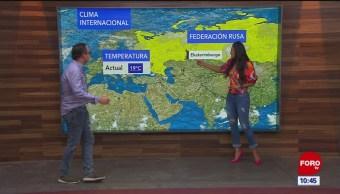 El clima internacional en Expreso del 23 de agosto del 2019