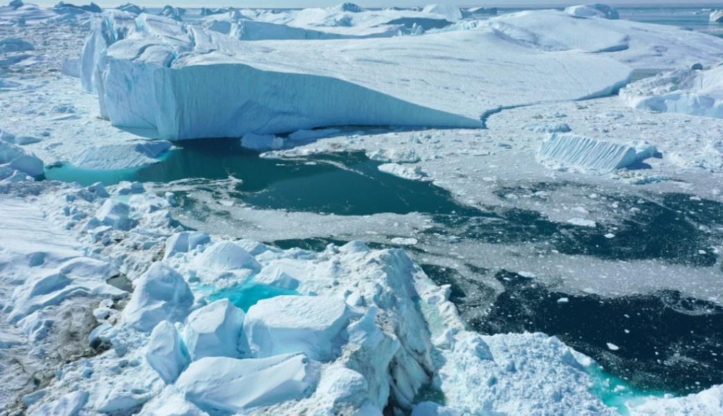 Foto:deshielo en Groenlandia. 20 agosto 2019