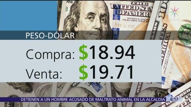El dólar se vende en $19.71