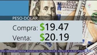 El dólar se vende en $20.19