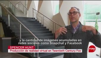 FOTO: El especialista en realidad virtual Spencer Hunt nos habla sobre los retos de esta tecnología, 17 Agosto 2019