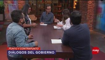 Foto: Gobierno Dialoga Grupos Armados 21 Agosto 2019