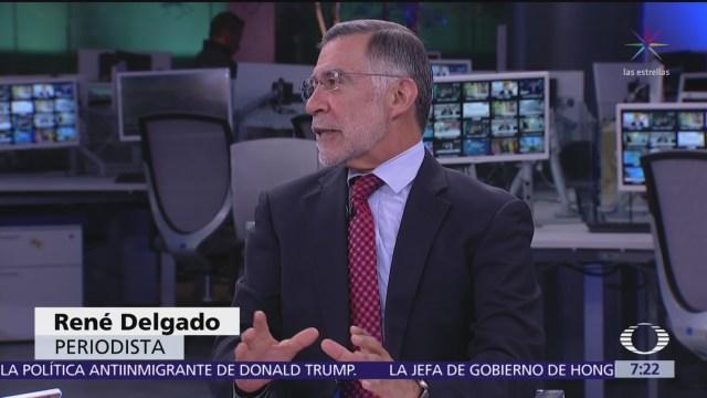 El informe de gobierno, el análisis de René Delgado