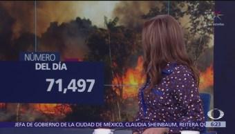 El número del día: 71 mil 497