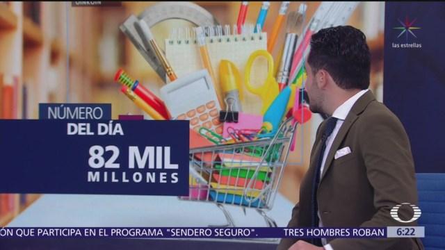 El número del día: 82 mil millones