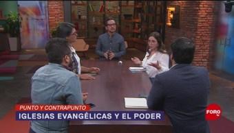 Foto: Poder Iglesias Evangélicas Gobierno AMLO 21 Agosto 2019