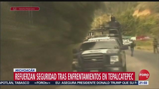 Foto: Enfrentamiento Tepalcatepec Michoacán 9 Muertos 30 Agosto 2019