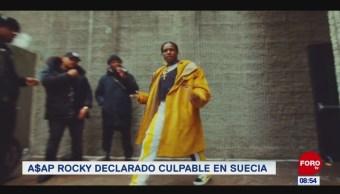 #EspectáculosenExpreso: A$AP Rocky declarado culpable en Suecia