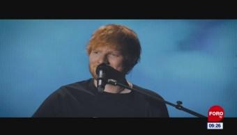 #EspectáculosenExpreso: Ed Sheeran desbanca a U2