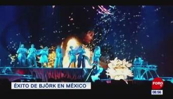 #EspectáculosenExpreso: Éxito de Björk en México