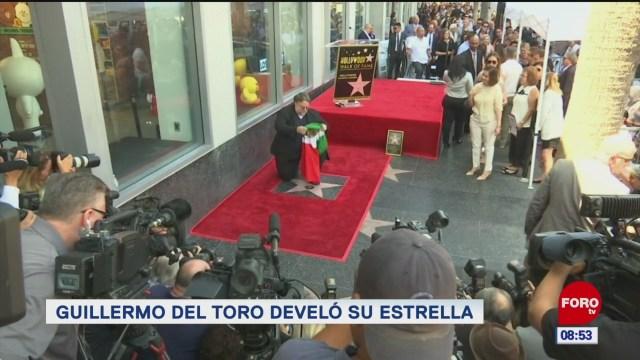 #EspectáculosenExpreso: Guillermo del Toro develó su estrella