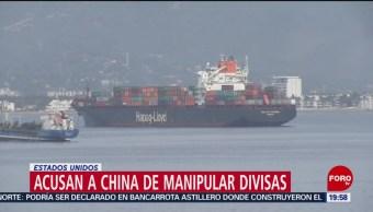 Foto: Estados Unidos Acusa China Manipular Divisas 5 Agosto 2019