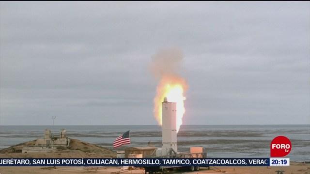 Foto: Video Estados Unidos Realiza Prueba Misil Medio Alcance19 Agosto 2019