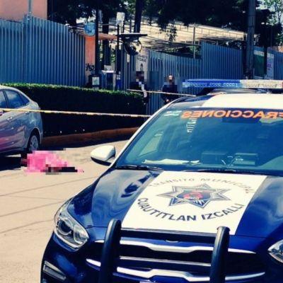 Matan a estudiante afuera del Tecnológico de Cuautitlán Izcalli