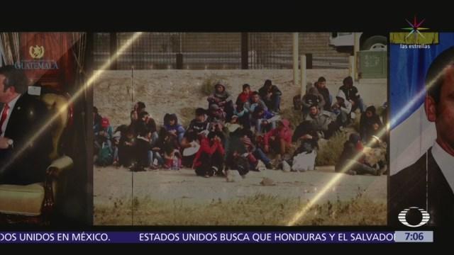 EU busca que Honduras y El Salvador sean tercer país seguro