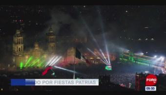 Extra, Extra: Preparan adornos patrios en el Zócalo