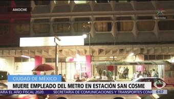 Fallece trabajador del metro en estación San Cosme, CDMX