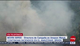 Foto: Apoyo Bolsonaro Controlar Incendios Amazonía Selva 22 Agosto 2019