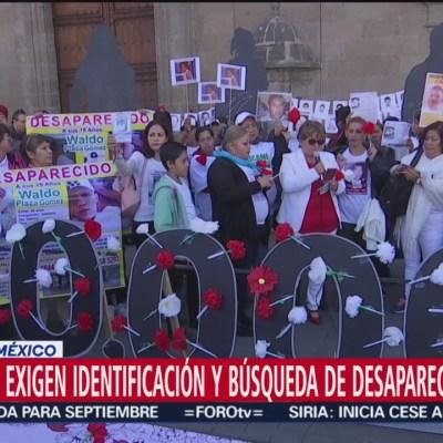 Familiares de desaparecidos en México exigen justicia