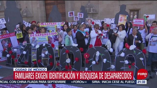 Foto: Familiares Desaparecidos México Exigen Justicia 30 Agosto 2019
