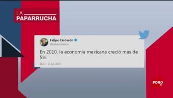 Foto: Felipe Calderón Crecimiento Economico 2 Agosto 2019