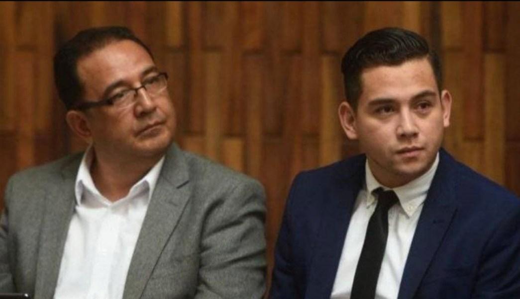 Foto: José Manuel Morales y Samuel Morales, hijo y hermano del presidente de Guatemala, Jimmy Morales. Noticieros Televisa