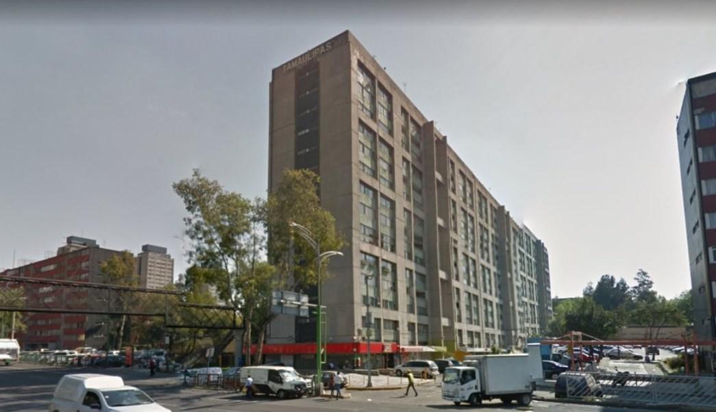 Foto: Edificio Tamaulipas en la zona de Tlatelolco, Ciudad de México. Google Maps