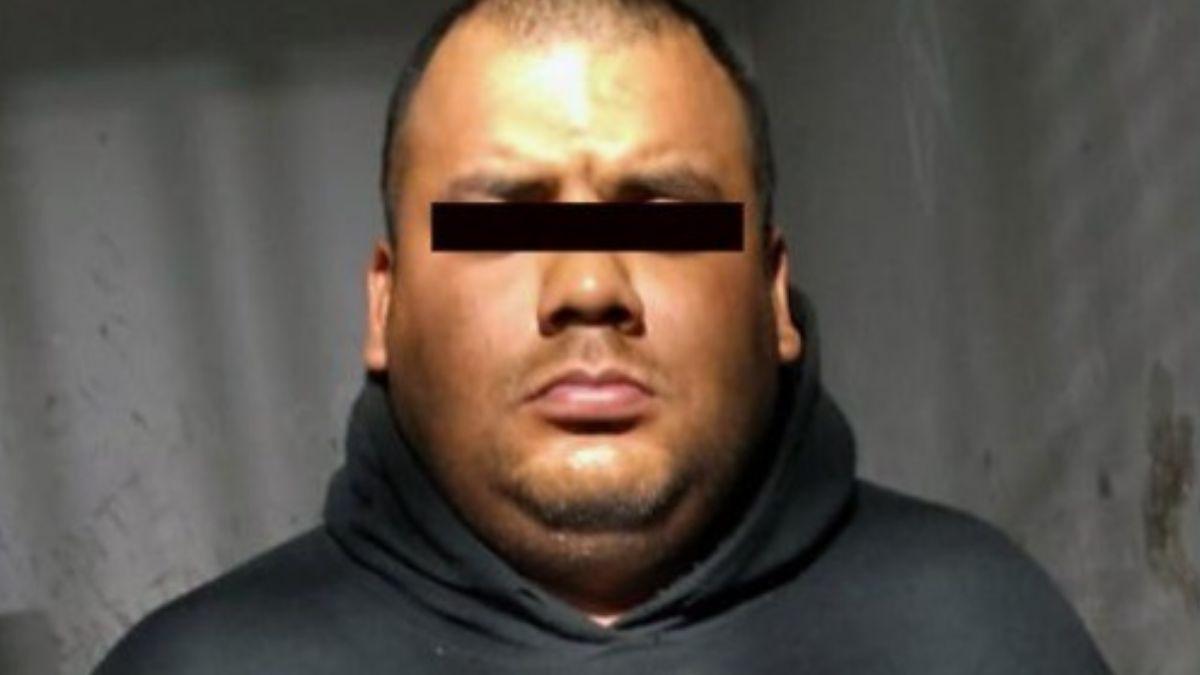 Foto: Juan Carlos 'N', presunto asaltante del transporte público en el municipio de Chalco, Edomex. El 13 de agosto de 2019. Twitter/@FiscalEdomex