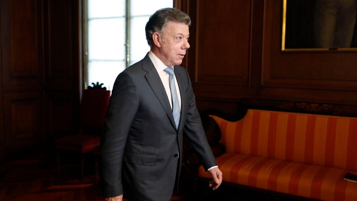 Foto: Juan Manuel Santos, expresidente de Colombia. AP/Archivo