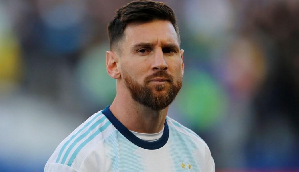 Foto: Lionel Messi durante el partido Argentina-Chile de la Copa América 2019. El 6 de julio de 2019. Reuters