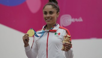 Foto: La mexicana Paola Longoria gana oro en Raquetbol en Lima 2019. El 7 de agosto de 2019. Reuters