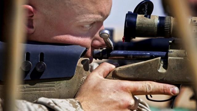 Foto:francotirador mata a terrorista. 26 agosto 2019