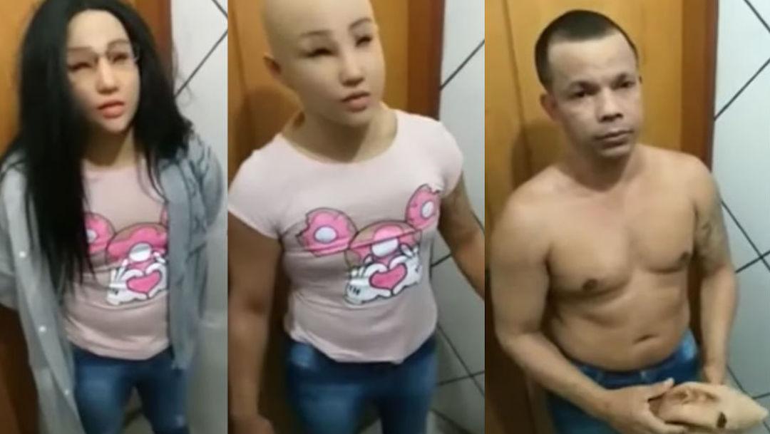 Foto Preso intenta escapar de la cárcel disfrazado como su hija 5 agosto 2019