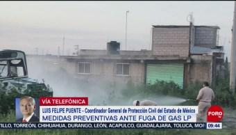 FOTO: Fuga de gas en Tequisistlán no está totalmente controlada: Luis Felipe Puente, 24 Agosto 2019