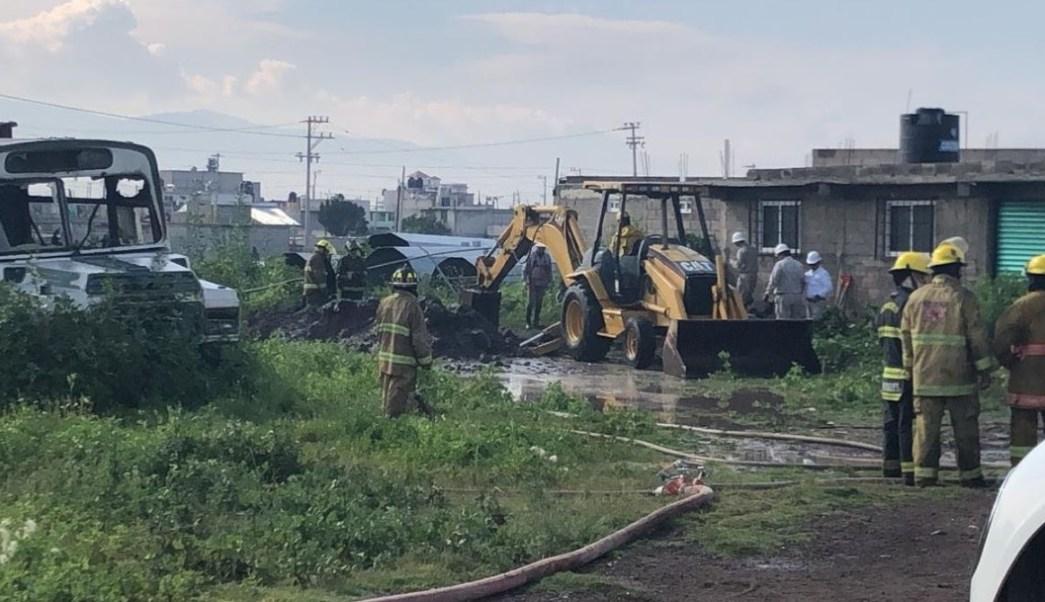 Foto: El gobierno del Estado de México informó que serán las autoridades correspondientes quienes determinen las causas del siniestro, el 24 de agosto de 2019 (Gobierno Estado de México)